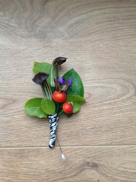 Completed Buttonhole